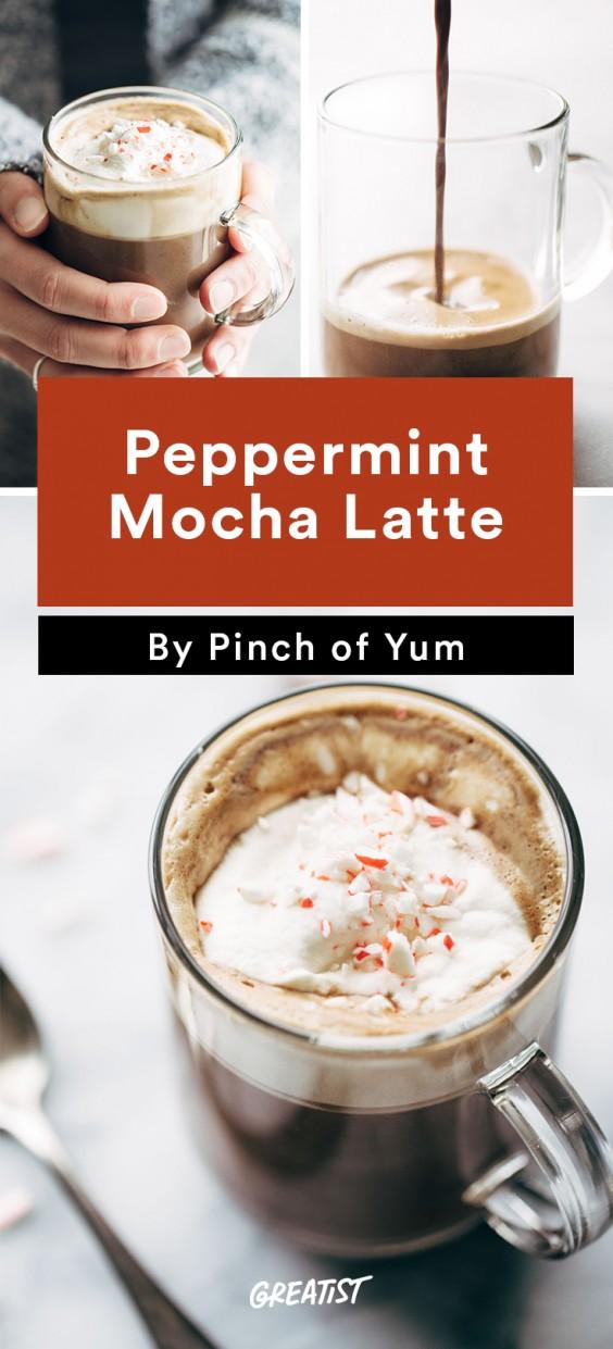 At Home Starbucks Recipes: Peppermint Mocha