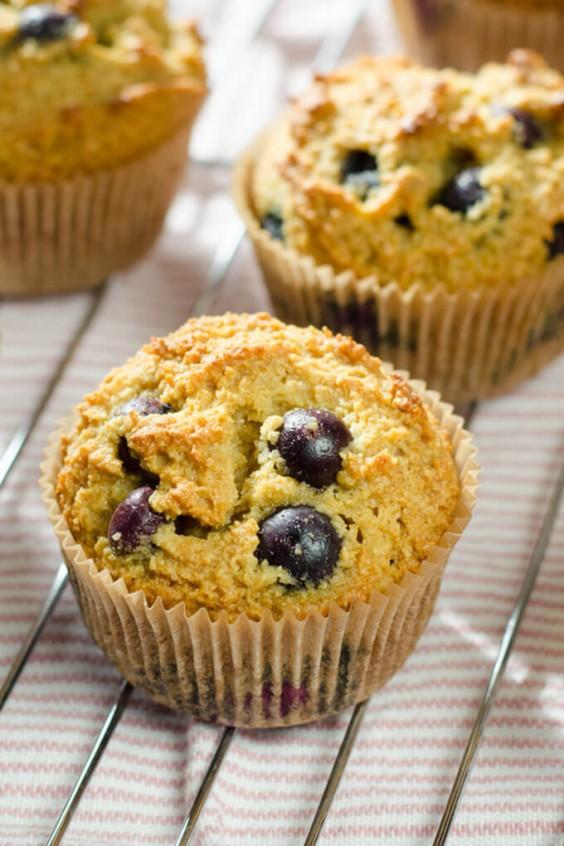 Detox Recipes: Paleo Blueberry Muffins