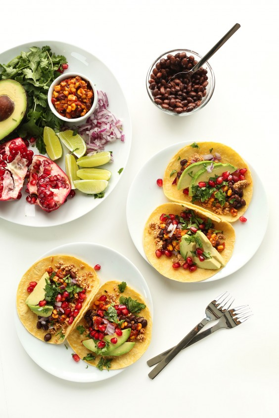Healthy Breakfast Taco Recipes: Minimalist Baker's Easy Vegan Breakfast Tacos