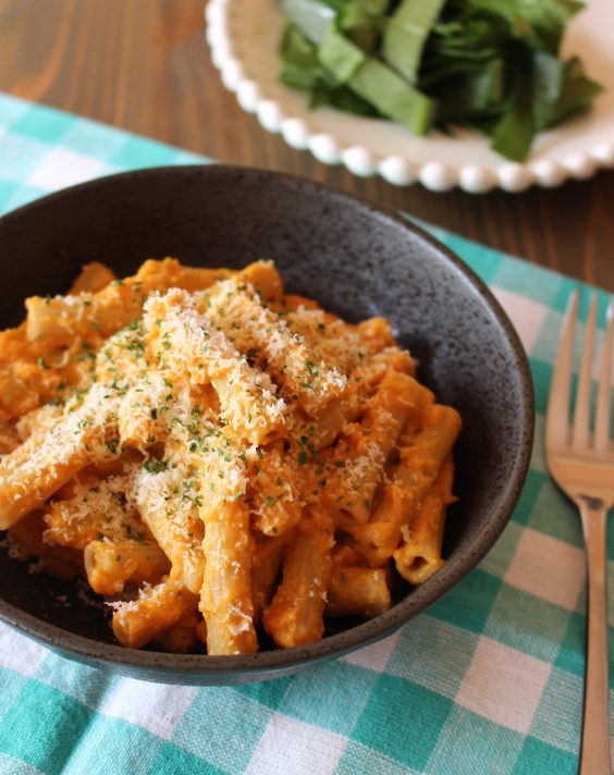 Healthy Dinner Recipes for Beginners: Creamy Pumpkin Pasta Sauce by Frugal Nutrition