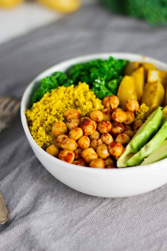 Turmeric Quinoa Power Bowl Recipe