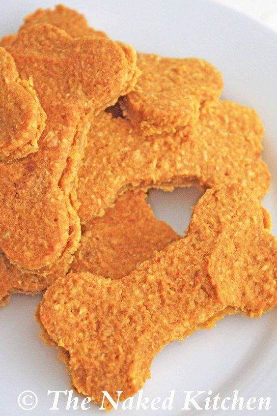 Pumpkin Cookie Dog Treats