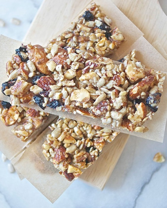 Blueberry Nut and Seed Bars