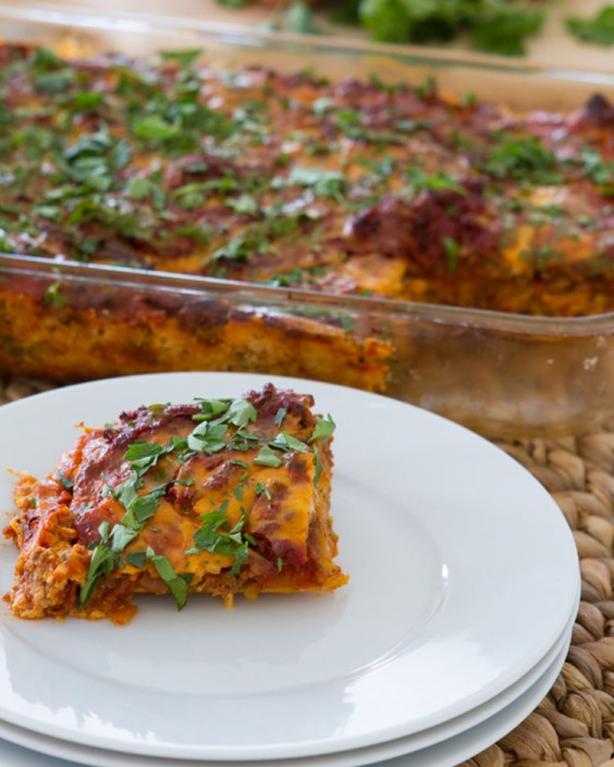 Paleo Lasagna With Dairy-Free Melty Cheese and Butternut Squash Noodles