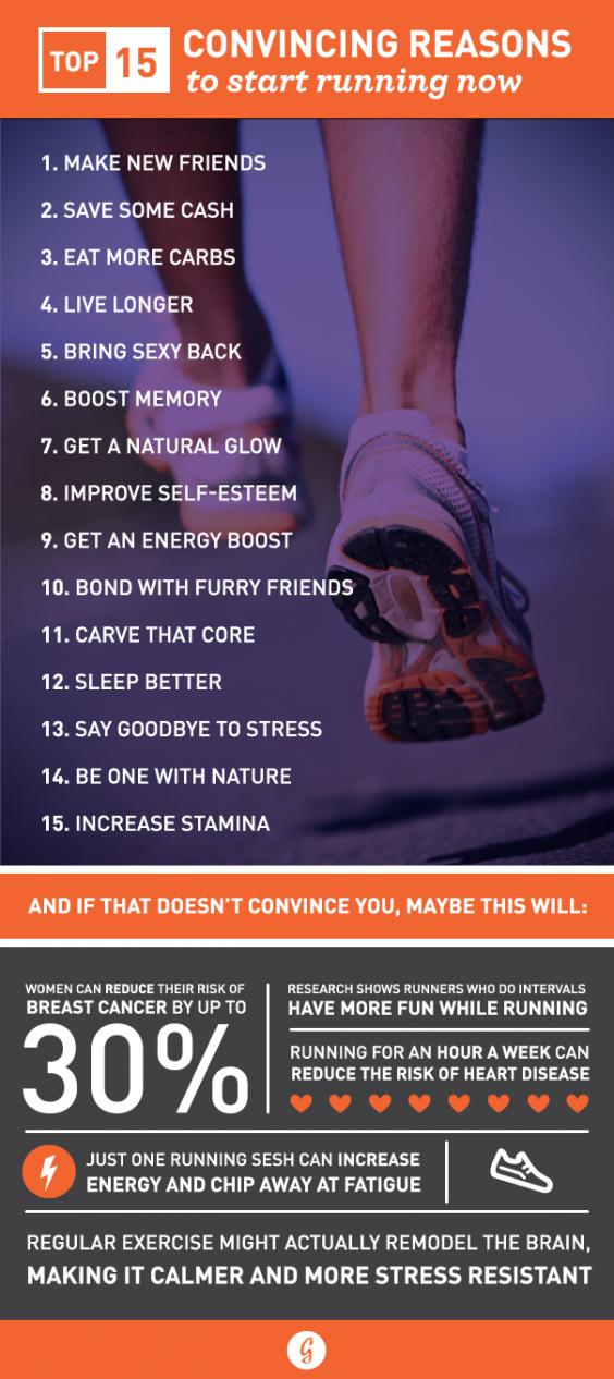 30 Reasons to Start Running