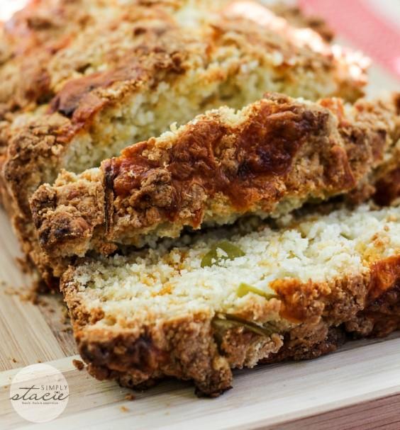 30. Apple Cheddar Quick Bread