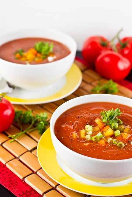 Tomato-Cucumber Gazpacho