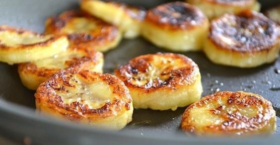 Fried Honey Bananas Paleo