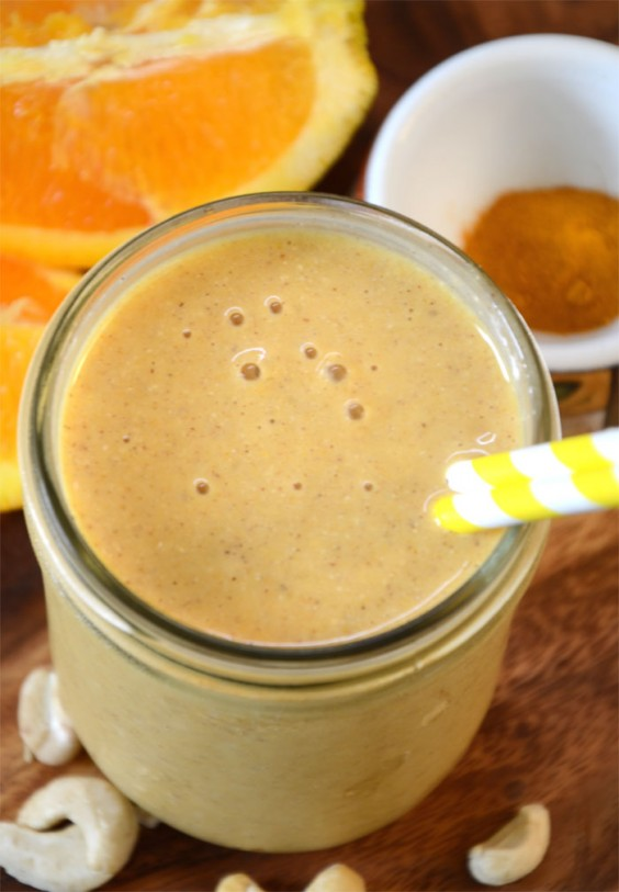 Orange Mango Recovery Smoothie