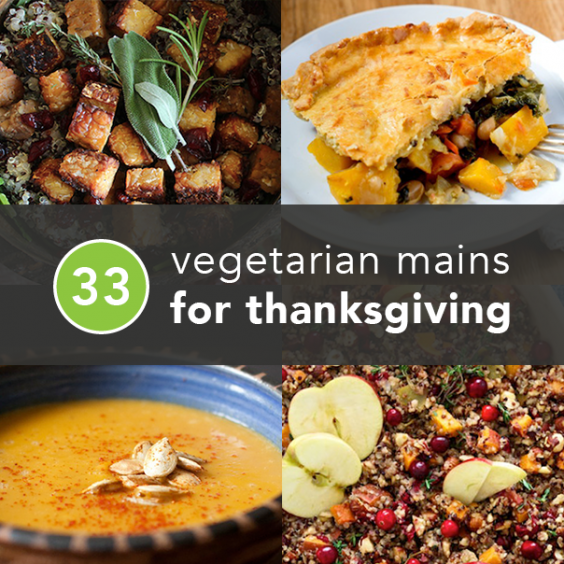 Vegetarian Thanksgiving Recipes Made With Real Food