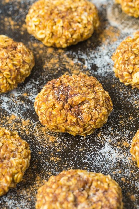 33. 4-Ingredient Applesauce Cookies