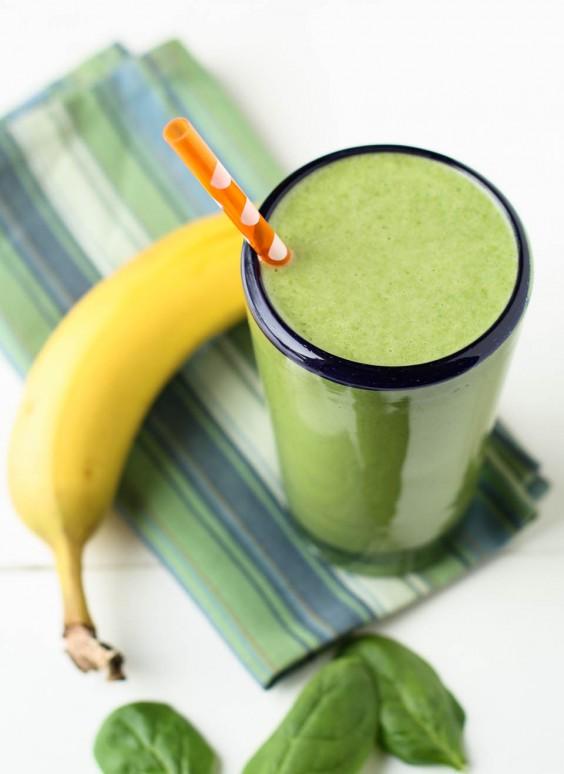 Spinach Banana Protein Shake