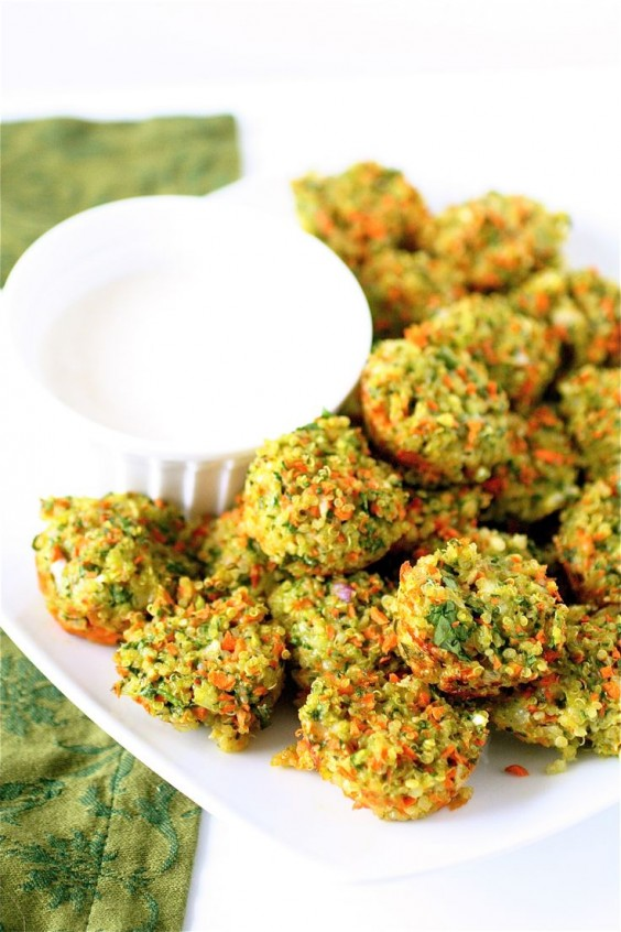 Detox Recipes: Vegetable Quinoa Bites
