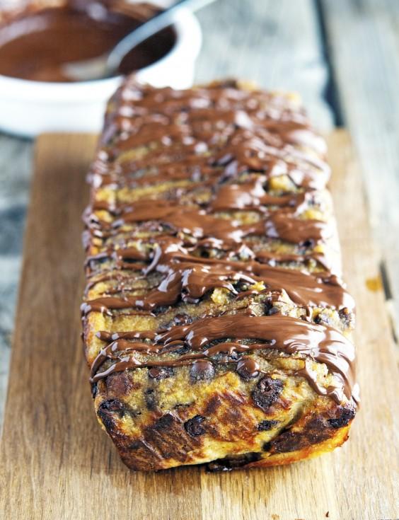 Paleo Dinner Party Ideas Part - 42: Paleo Chocolate Chip Banana Bread
