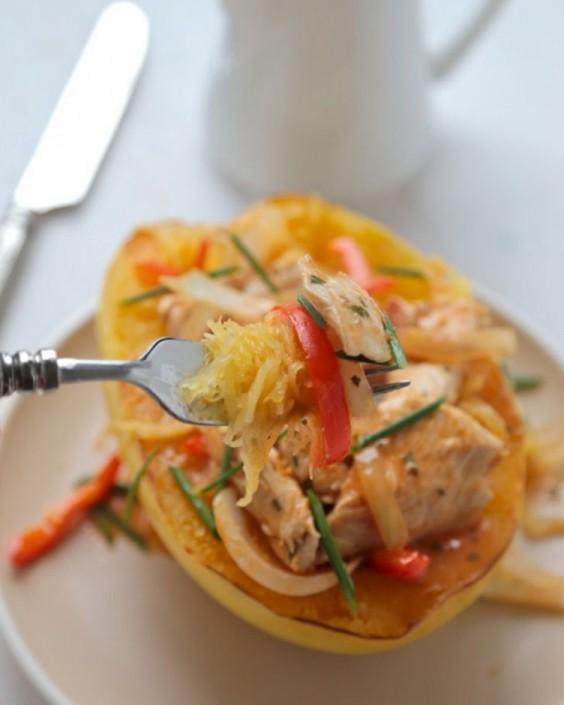 Thai Red Curry Spaghetti Squash
