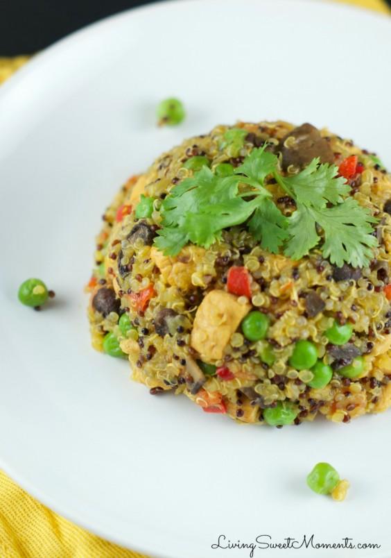 One Pot Meals: Quinoa Arroz Con Pollo
