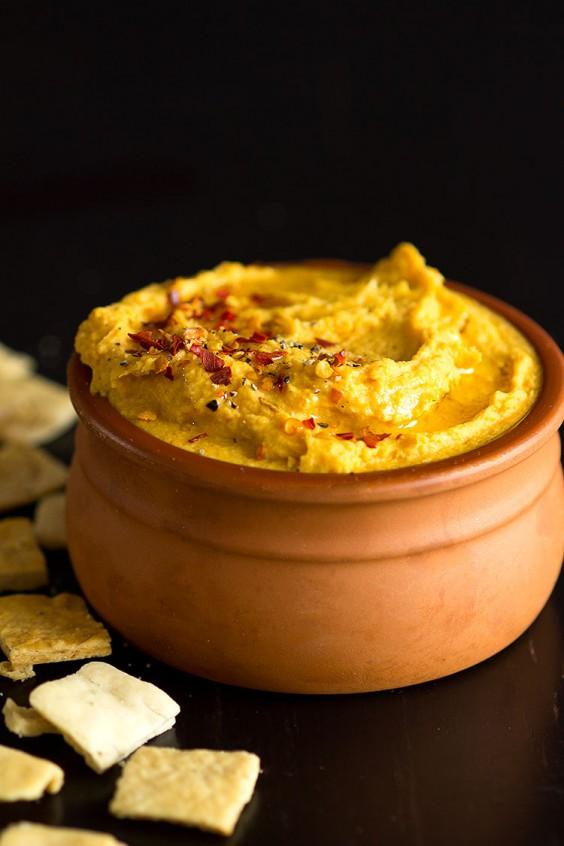 Detox Recipes: Turmeric Sweet Potato Dip