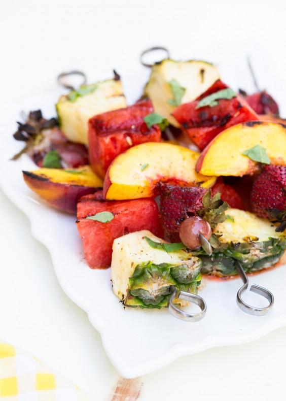 Detox Recipes: Grilled Fruit Kabobs