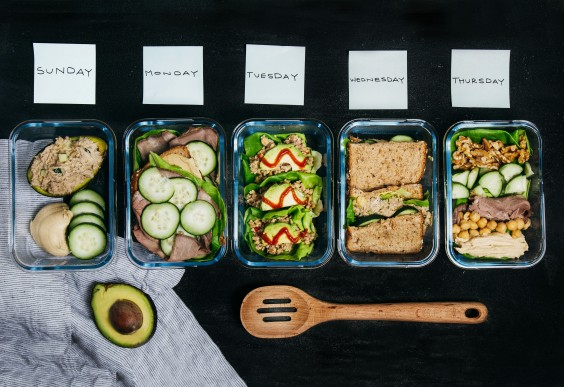 No-Cook Meal-Prep Lunch
