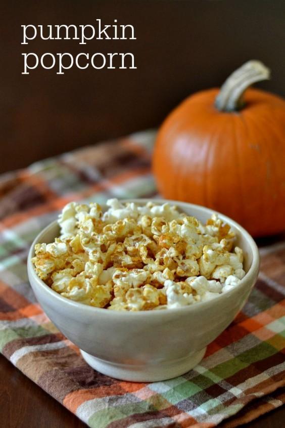 3. Pumpkin Popcorn