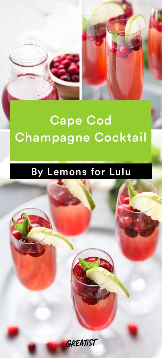 Cape Cod Champagne Cocktail Recipe