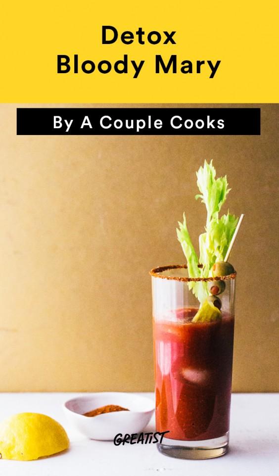 Detox Bloody Mary Recipe