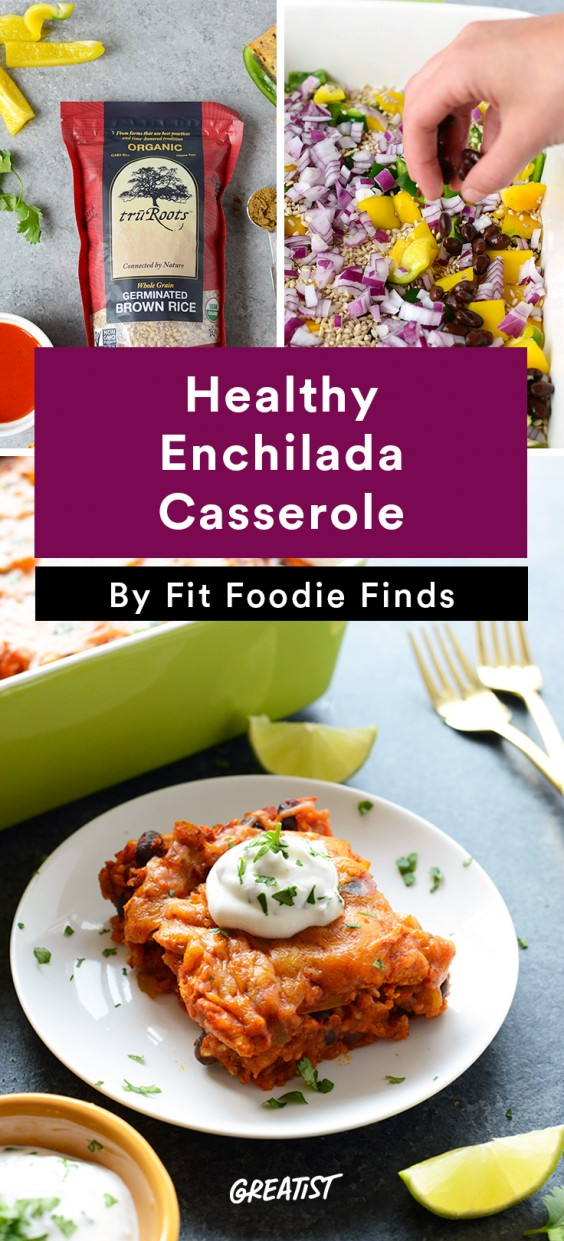 Fit Foodie Finds: Enchilada Casserole