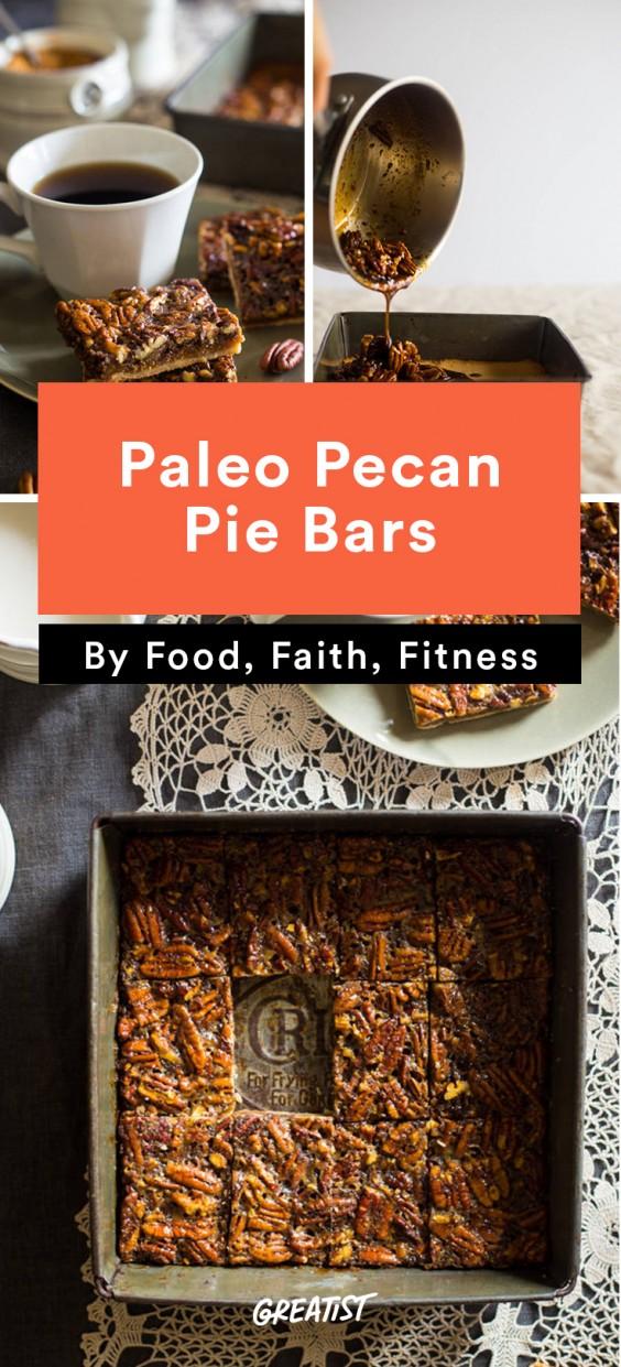 gluten free thanksgiving: Pecan Pie Bars
