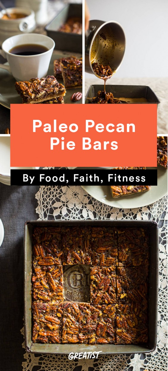 gluten free thanksgiving: Pecan Pie Bars