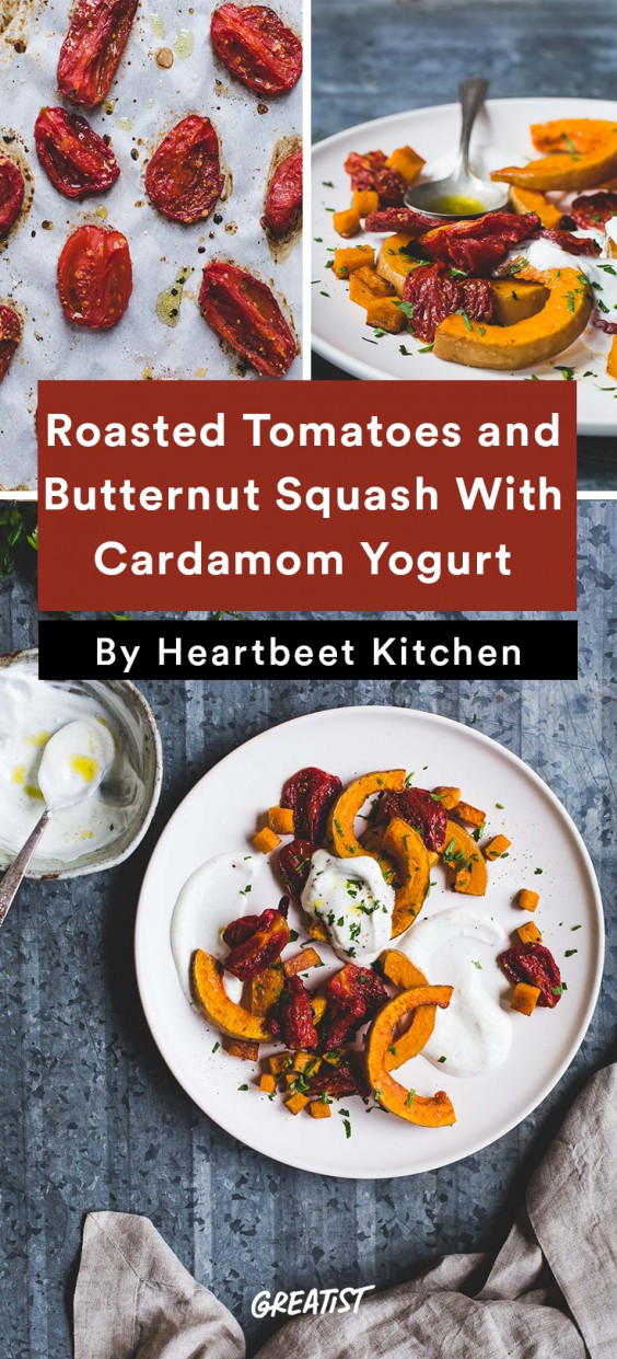 heartbeet kitchen: Tomatoes and Butternut Squash