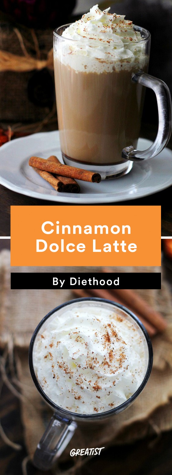 At Home Starbucks Recipes: Cinnamon Dolce
