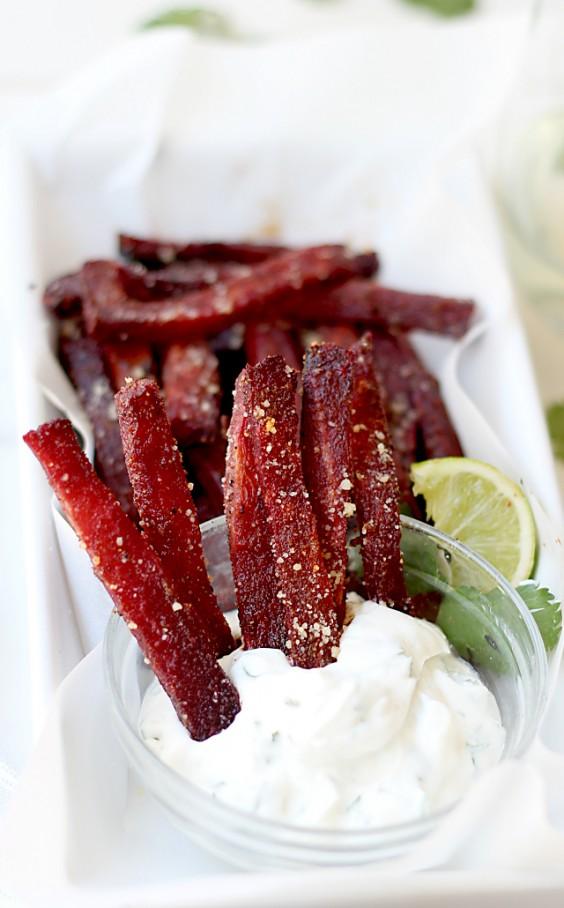 Roasted Beet Fries Recipe