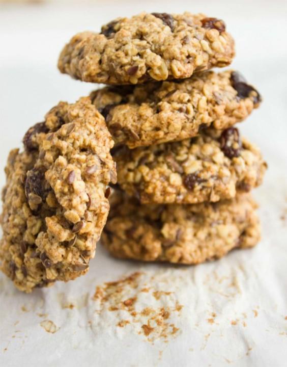 Healthy Oatmeal Raisin Chocolate Chip Cookies Applesauce