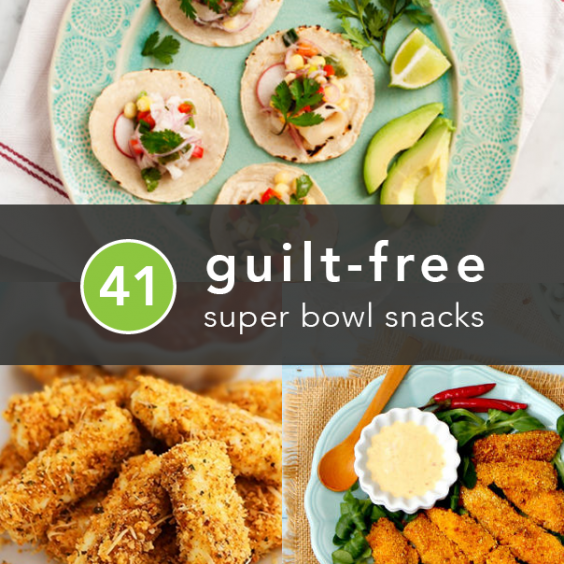 41 Guilt-Free Super Bowl Snacks