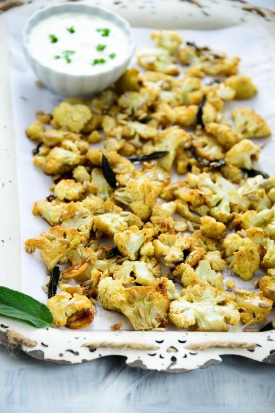 Detox Recipes: Honey Roasted Cauliflower