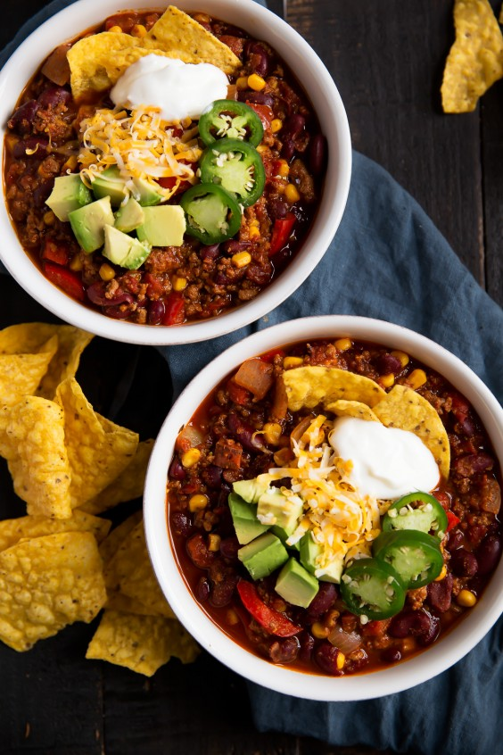 One Pot Meals: Spicy Turkey Chili