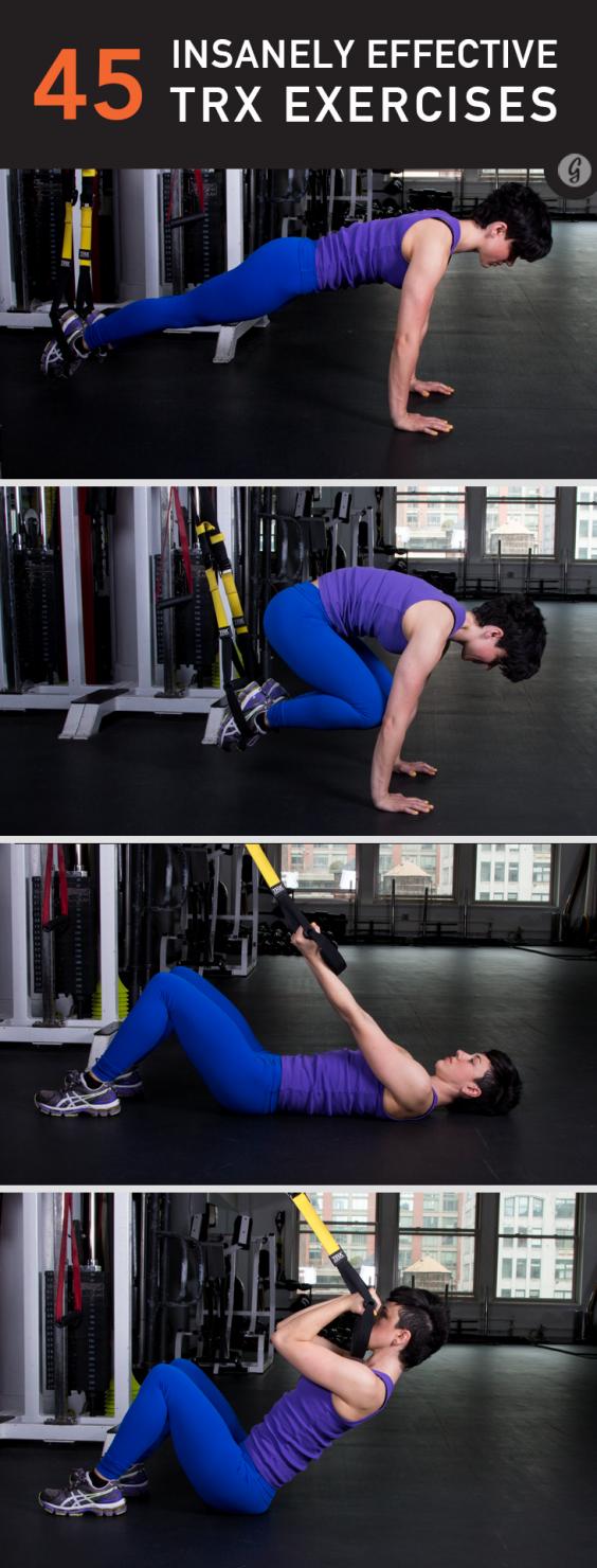45 TRX Exercises