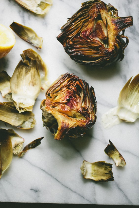 Detox Recipes: Roasted Artichokes