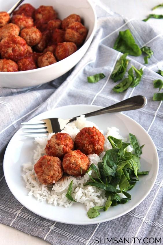 4. Tangy Crockpot Turkey Meatballs