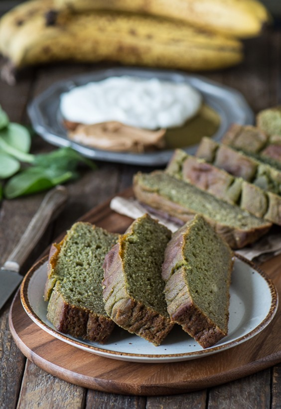 Sad veg: Green Monster Bread