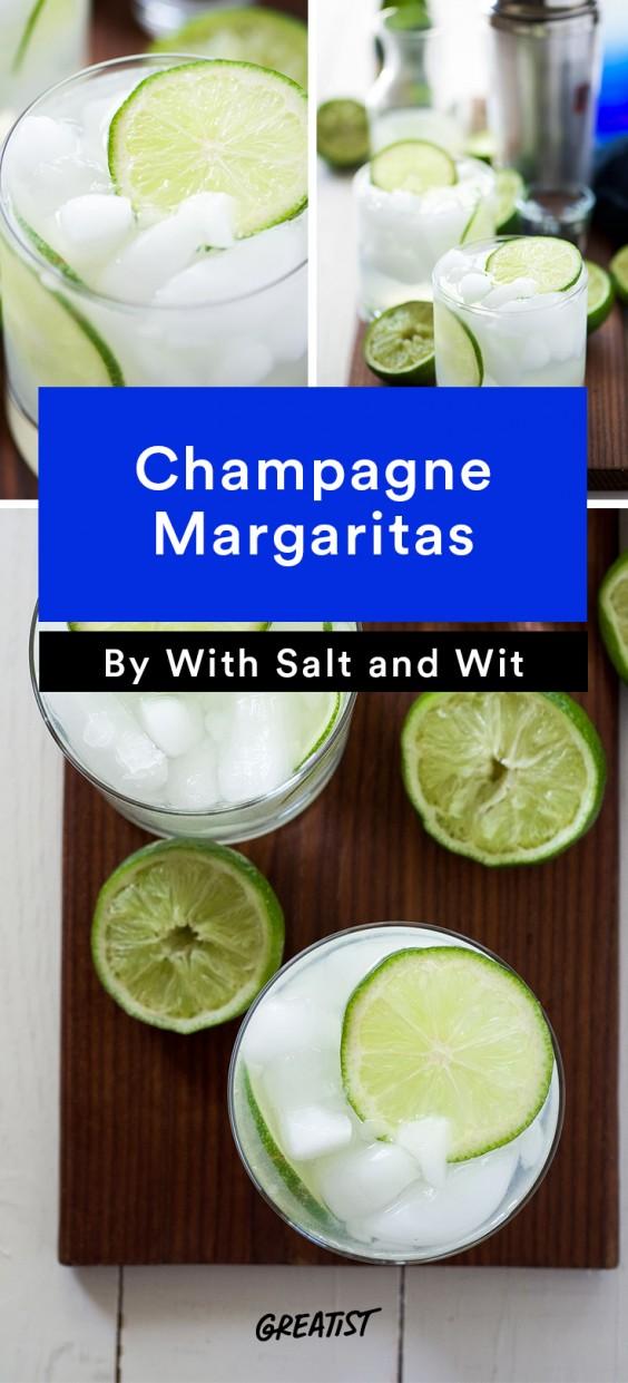 Champagne Margaritas Recipe