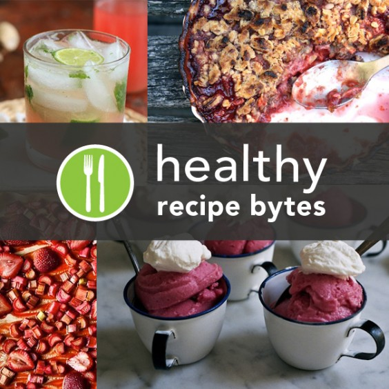 5 Healthy Rhubarb Recipes from Around the Web