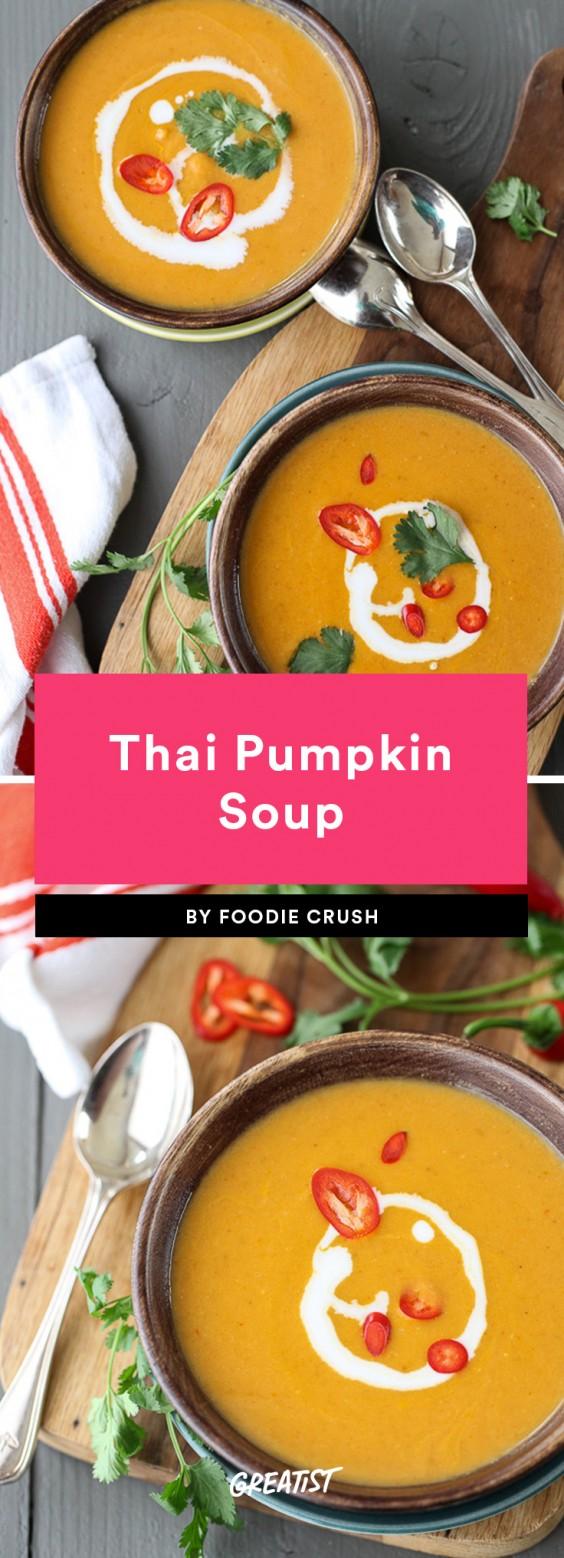 5 Ingredient Soup: Thai Pumpkin