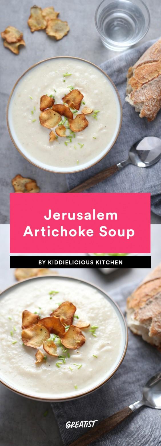 5 Ingredient Soup: Artichoke