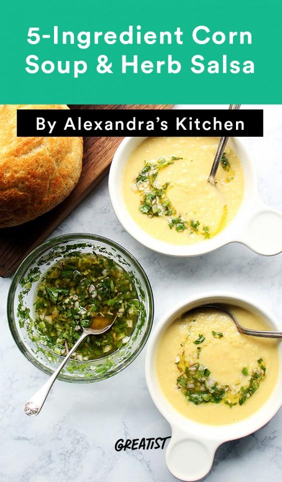 5 Ingredient Soup: Corn