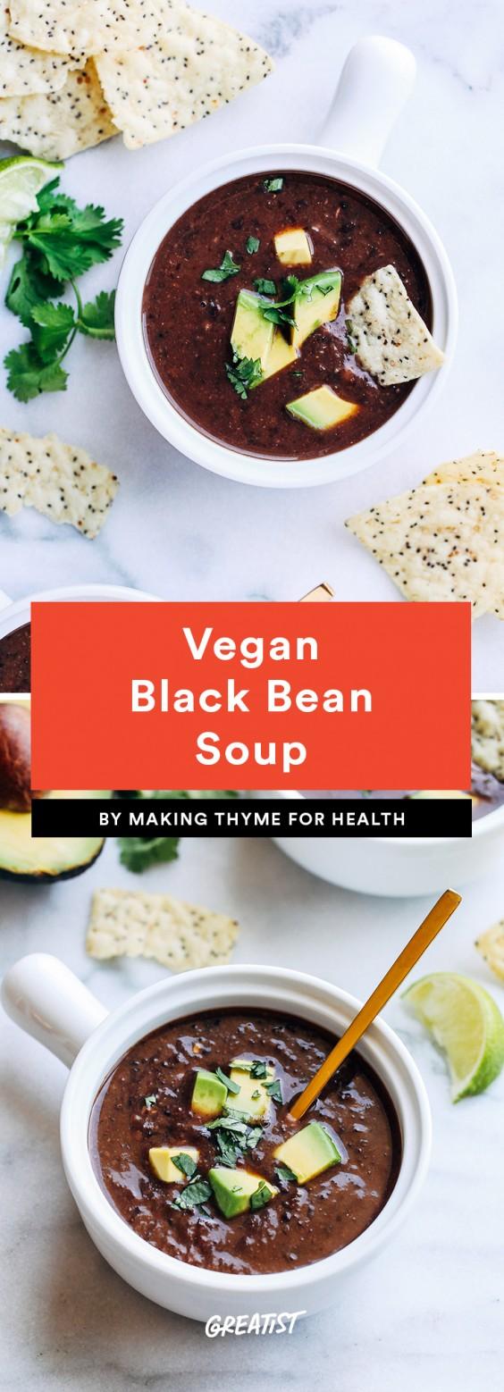 5 Ingredient Soup: Black Bean