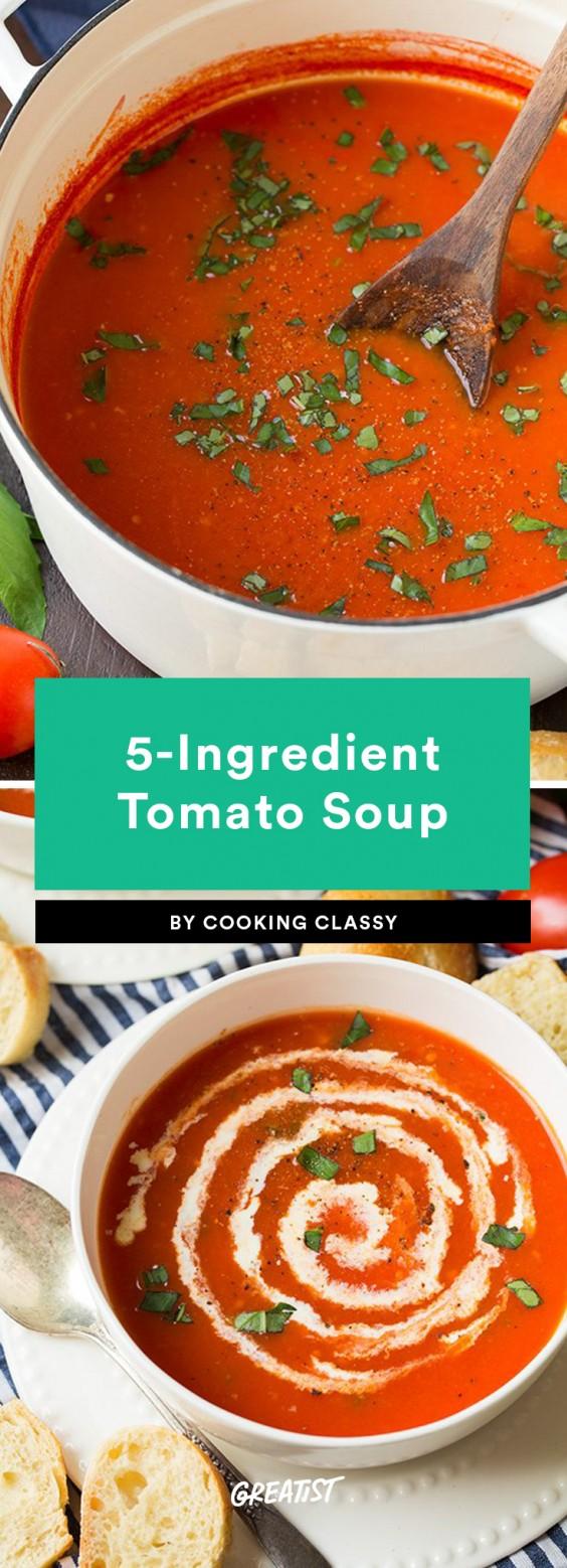 5 Ingredient Soup: Tomato