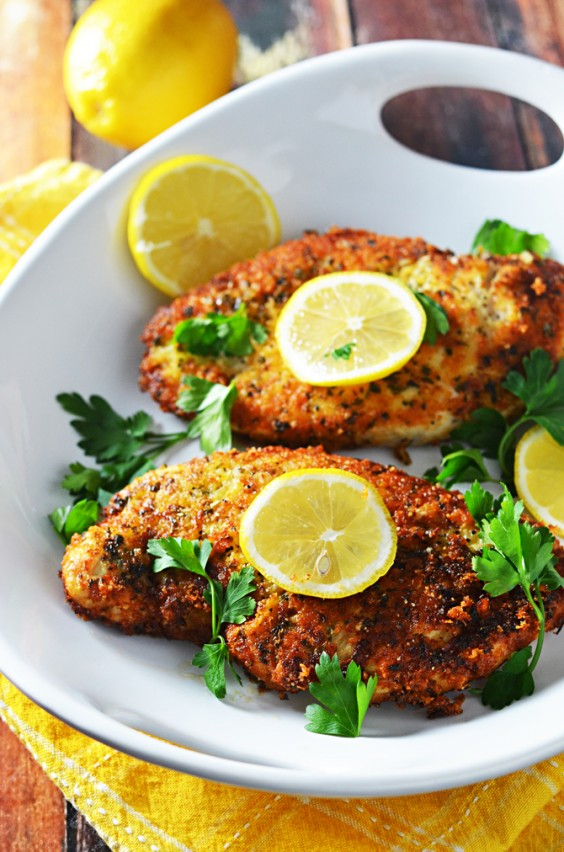 Simple dinner recipes with only five ingredients greatist 5 ingredient dinner breaded chicken forumfinder Gallery