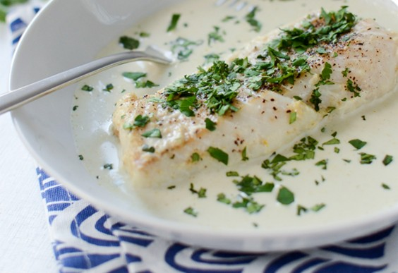 24. Baked Coconut Curry Cod