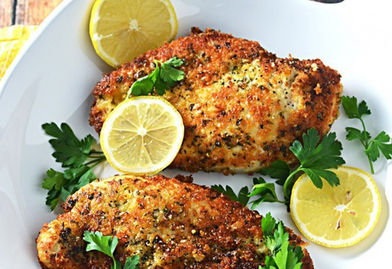 5. Breaded Lemon Chicken
